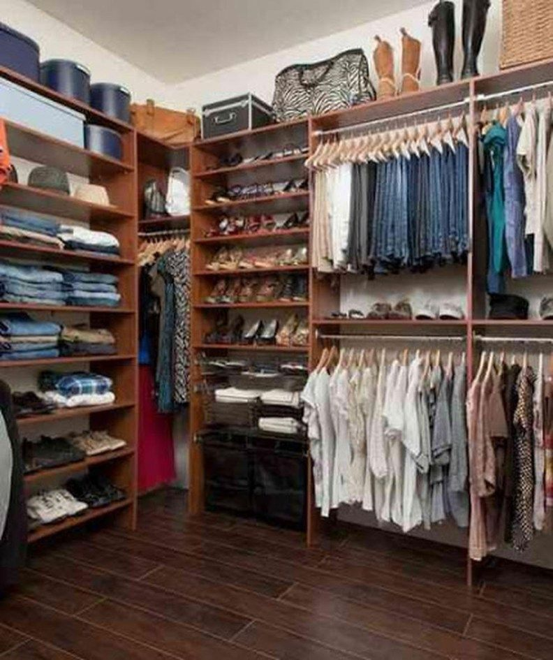 72 Easy And Affordable Diy Wood Closet Shelves Ideas: Easy And Affordable Diy Wood Closet Shelves Ideas 55