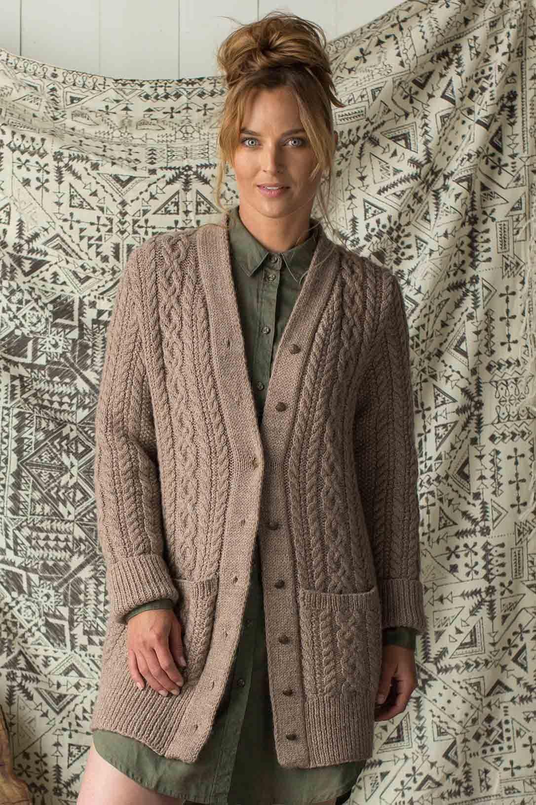 Pattern of the Week: Clear Creek Cardigan | Knitting patterns ...