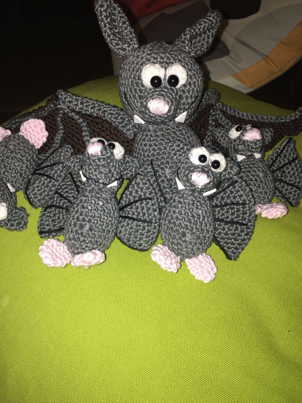 fledermäuse  halloween wreath crochet halloween