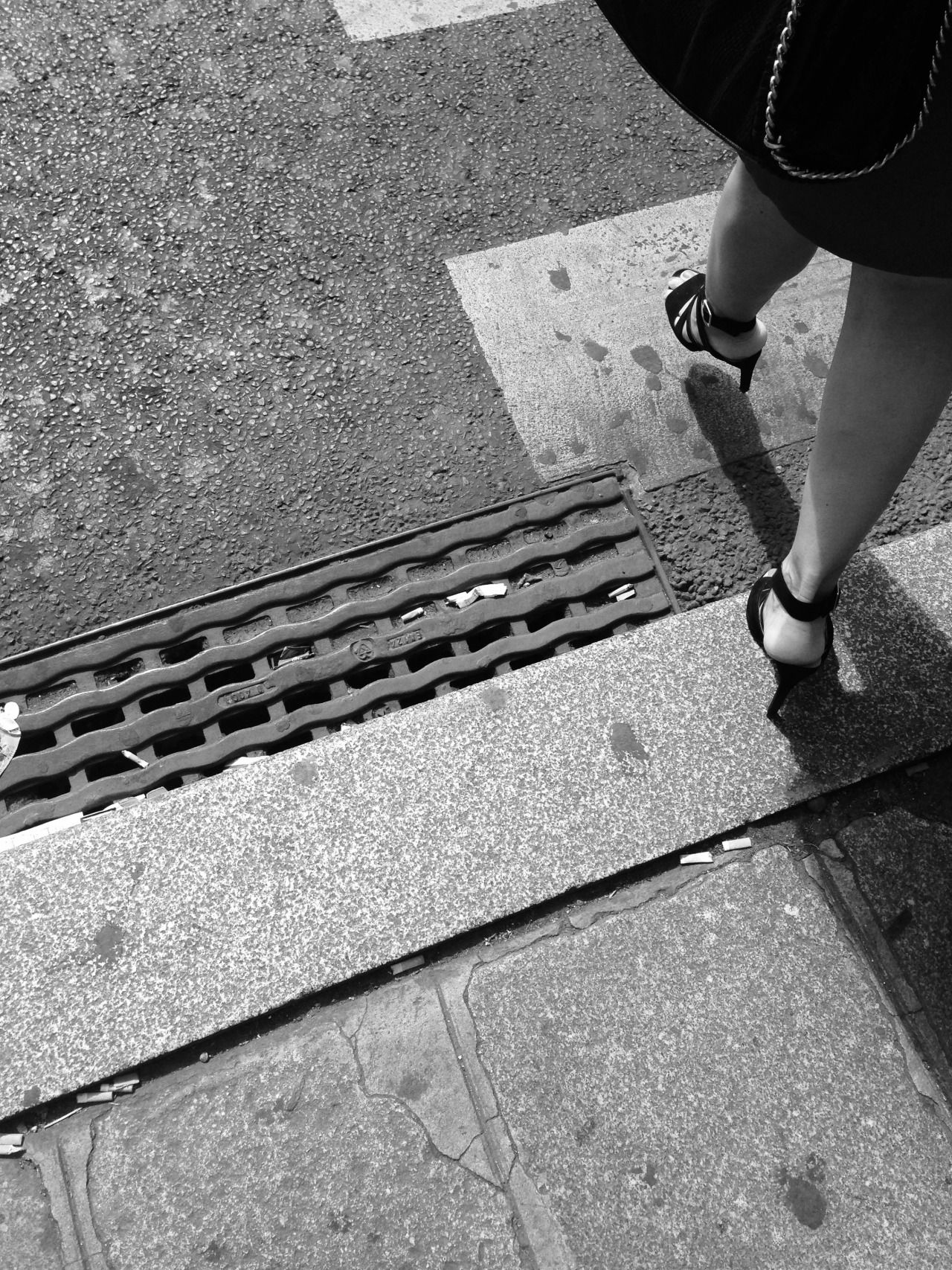 Adrien LC - London black and white street series