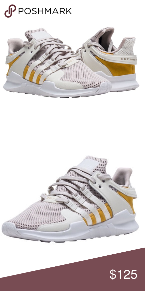 Adidas eqt support adv sneakers New with box Size men s 7.5 fits women s  size 8.5 Size men s 8 fits womens size 9 adidas Shoes Sneakers ee58fd628b