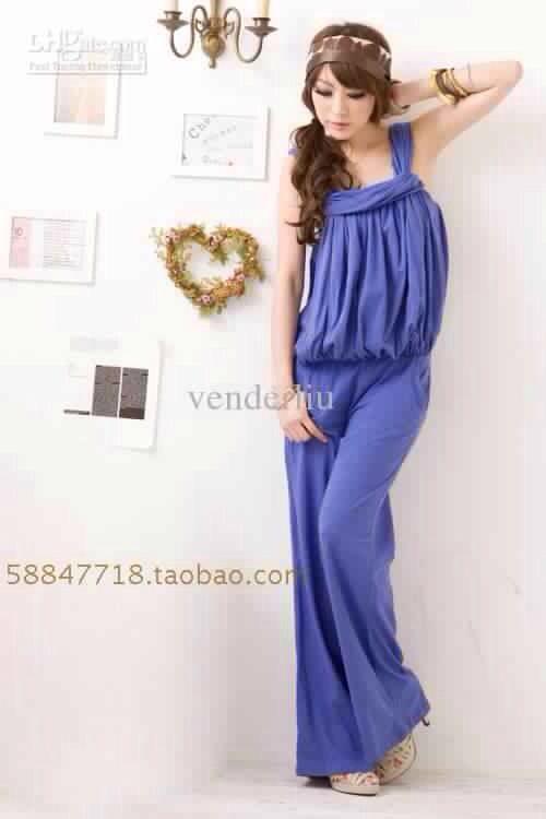 Gorgeous blue jumpsuit