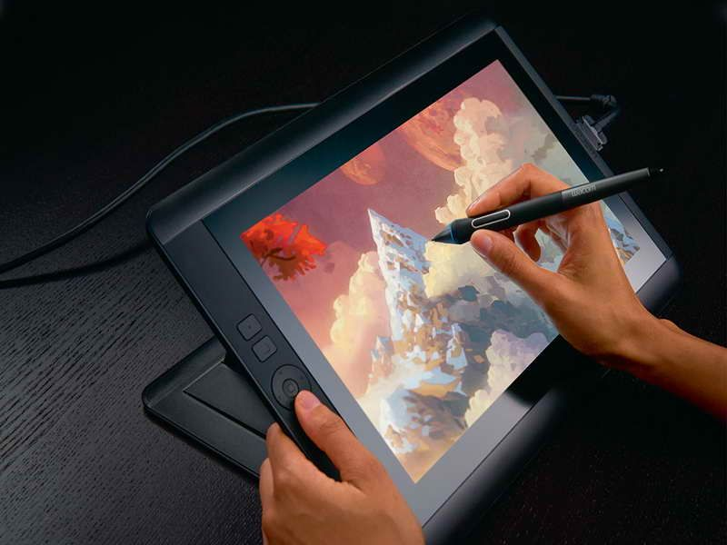 Computer Drawing Tablet with wacomm | Best Tablet for Drawing in