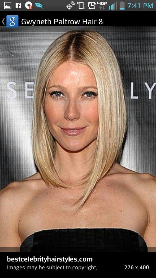 Long Bob Gwyneth Paltrow Hair Bob Hairstyles For Fine Hair Sleek Hairstyles