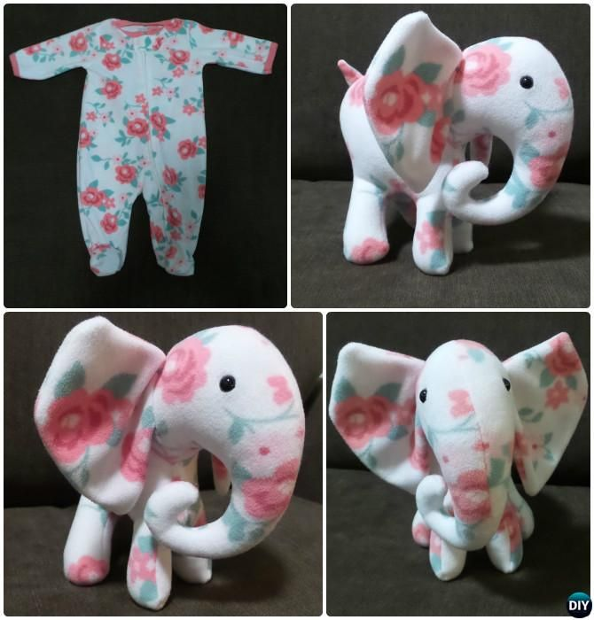Turn Baby esie into Memory Bear Keepsake Stuffed Animal