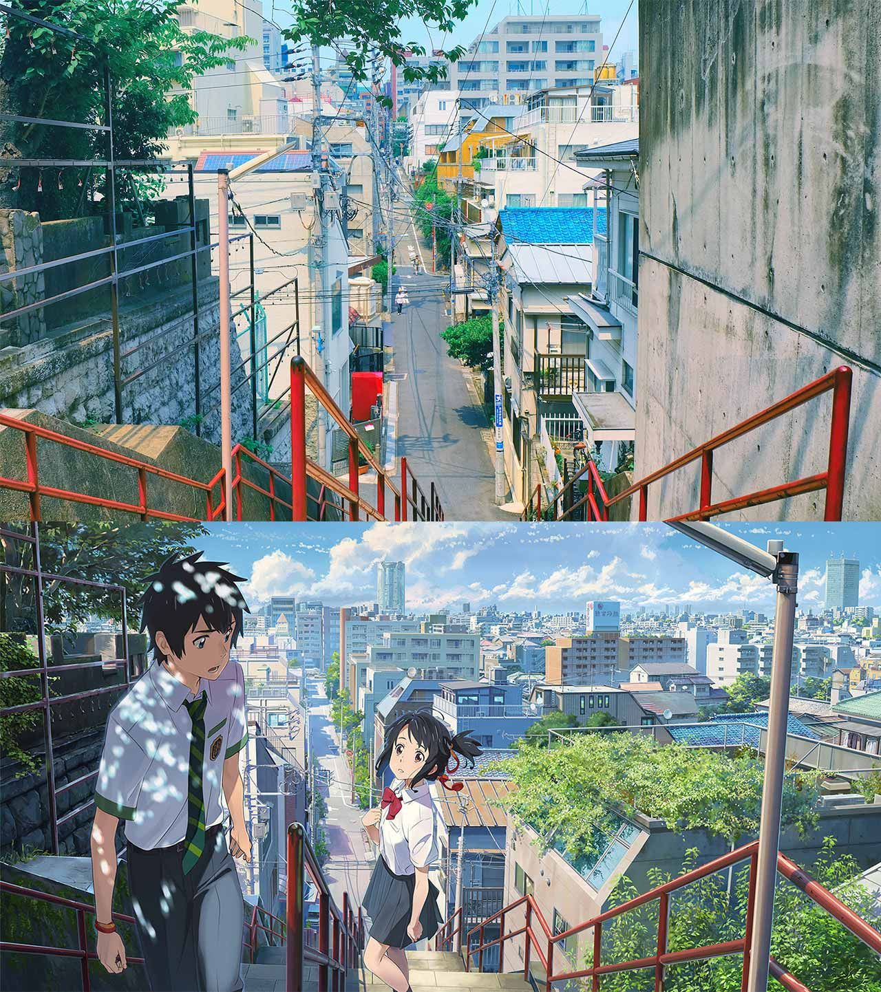 A Pilgrimage To The Real Life Locations Of Your Name Anime