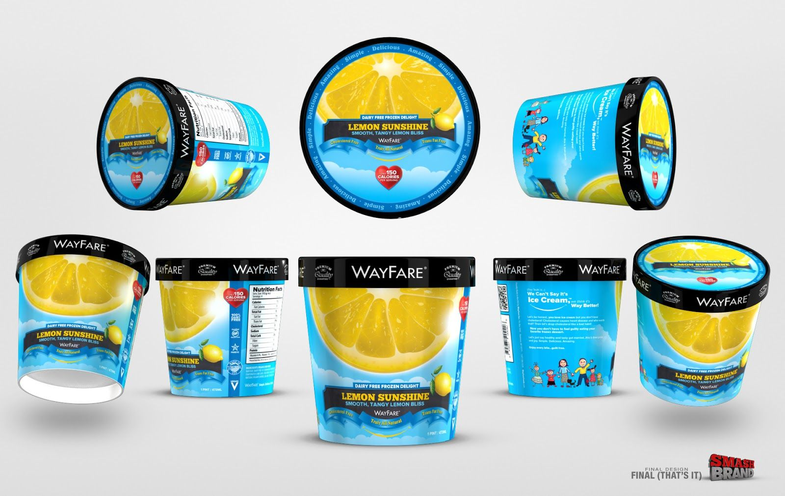 Packaging of the World: Creative Package Design Archive and Gallery: WayFare Diary Ice Cream