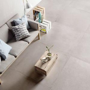 Carrelage Xxl Concrete Ash 120x120 Cm Carrelage Salon Idee Deco