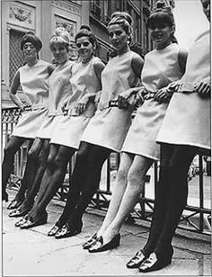 1960's Fashion on Pinterest | Mary Quant, Mini Skirts and 1960s ...