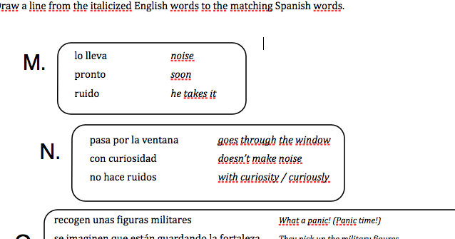 Teaching Spanish w/ Comprehensible Input: Reading to Students - part 3