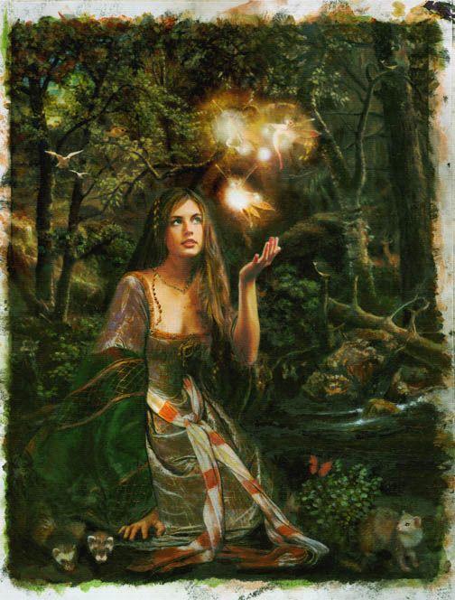 Pre Raphaelite Art Contemporary Symbolist Art Influenced By The