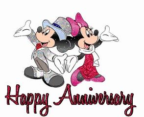 Image result for disney happy anniversary