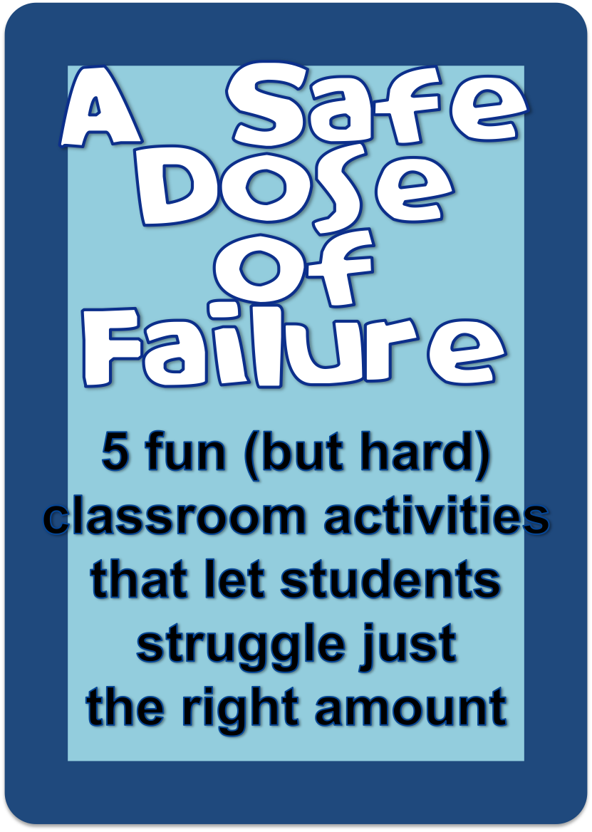 a safe dose of failure | Mindset, Easy math and Maths