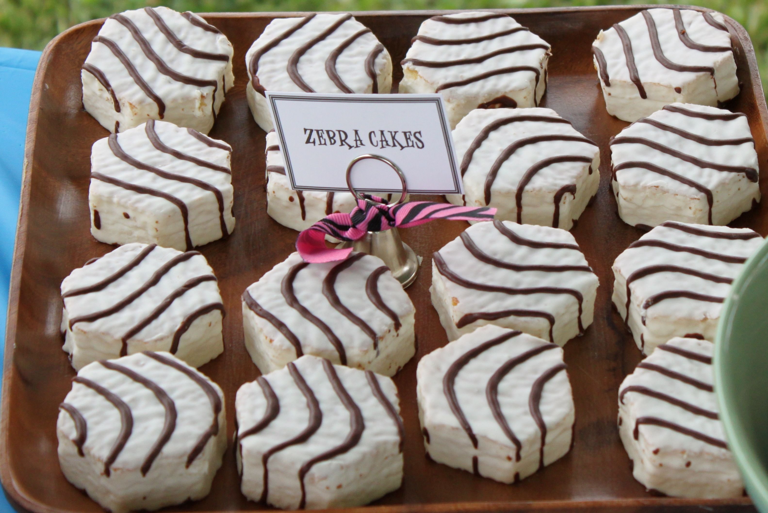 Vegan Little Debbie Zebra Cakes