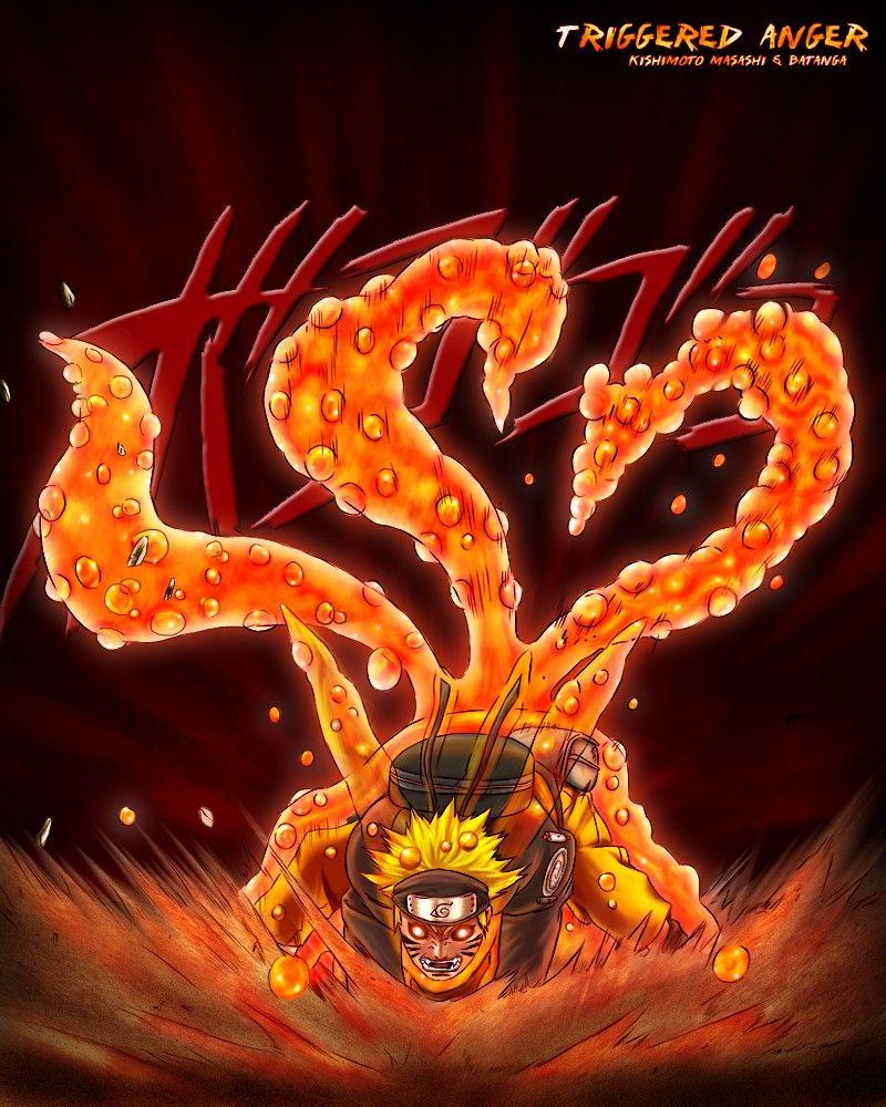 Three-tailed Naruto by Batanga | Naruto Uzumaki | Naruto