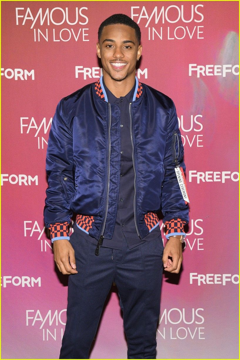 Keith Powers at Screen the Series Premiere in NYC!