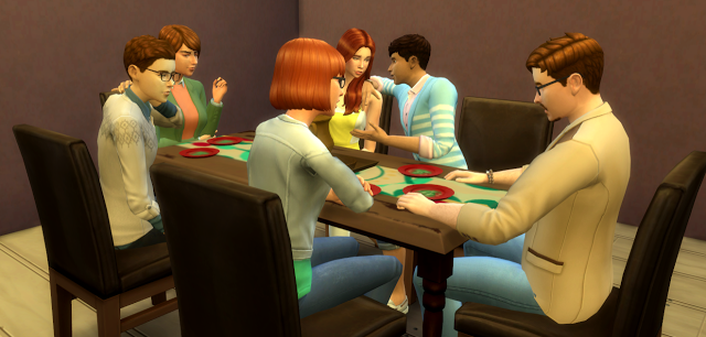 Sims 4 CC's - The Best: Dinner Pose Pack by la-sims-society