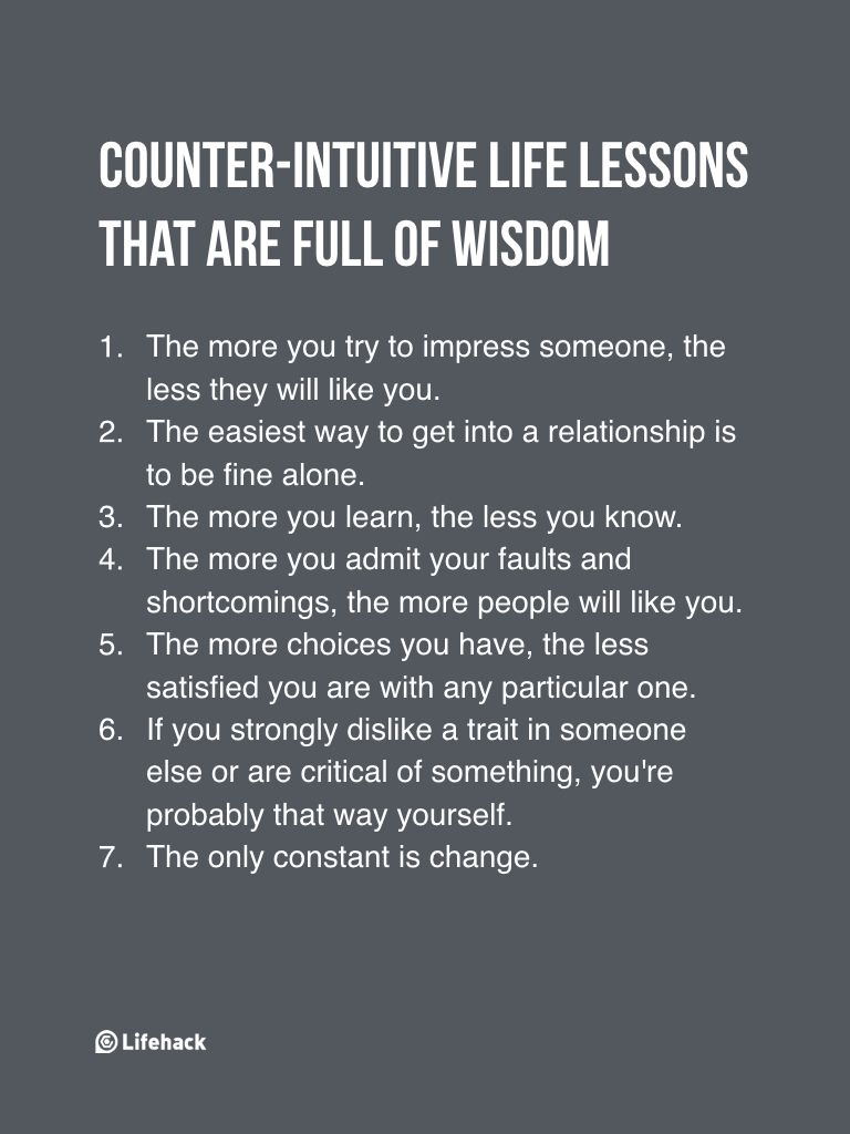 Someone Asks If There're Life Lessons That Go Against Common Sense, And It Turns Out There's A Lot