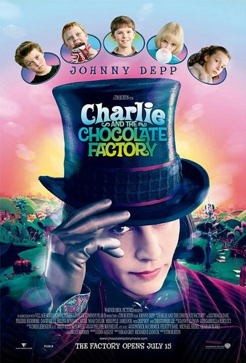 Charlie and the chocolate factory-2005