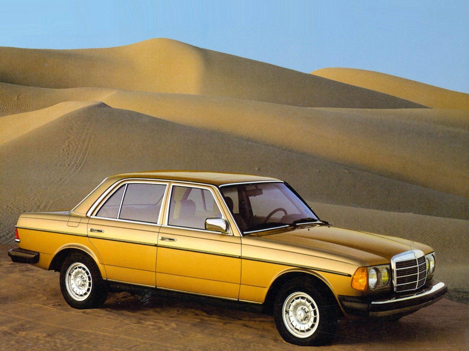 Mercedes Benz W123 300D Turbo 1985