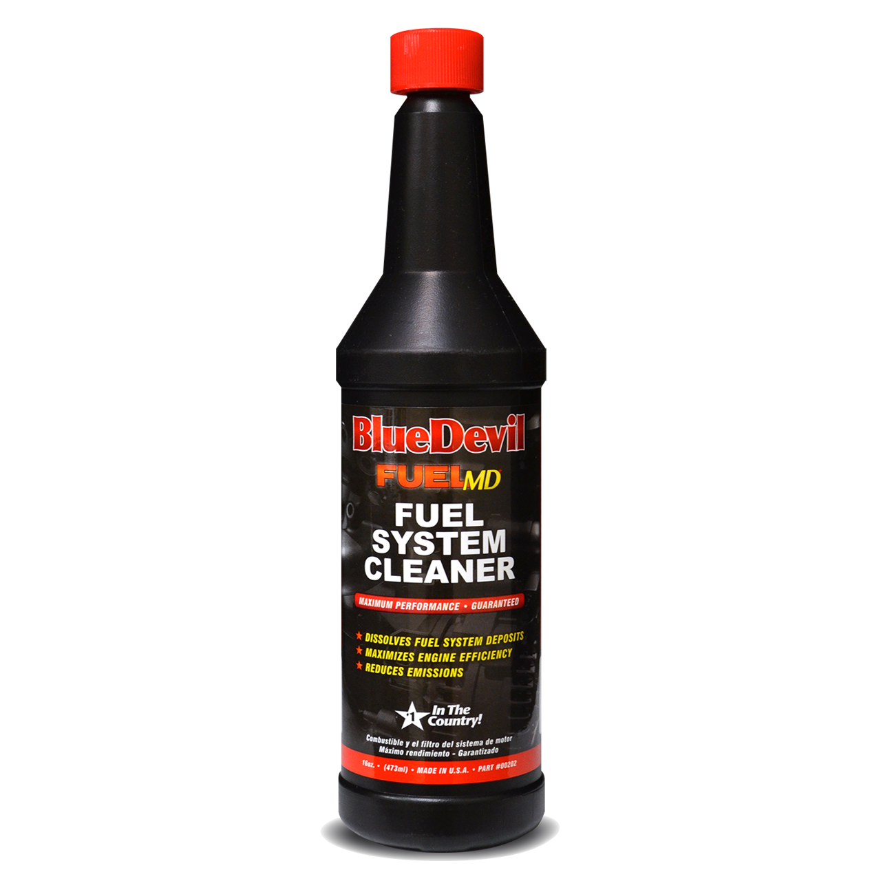 Fuel System Cleaner 00202 Soy Sauce Bottle System Clean
