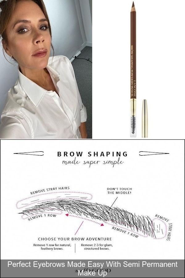 Reshape Eyebrows   Perfect Natural Brows   Proper Eyebrow ...