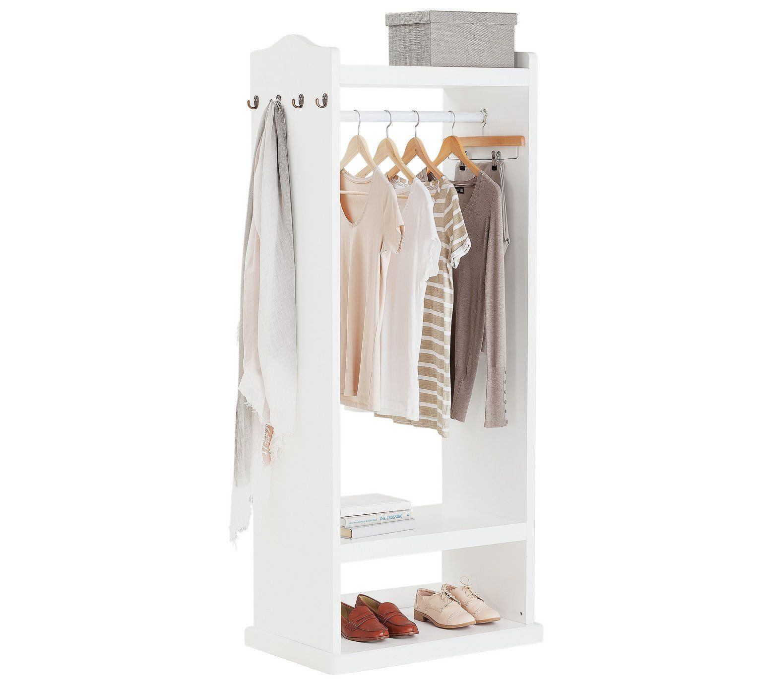 buy collection wykeham mirrored clothes rail at argos