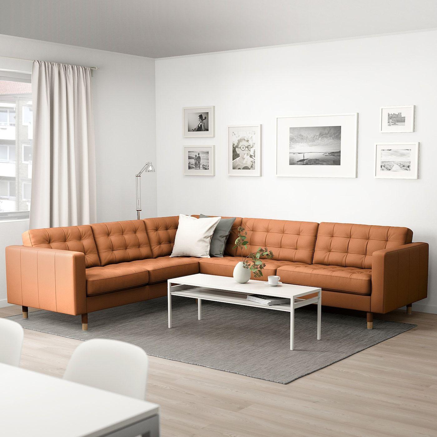 Landskrona Ecksofa 5 Sitzig Grann Bomstad Goldbraun Hier Bestellen Ikea Osterreich In 2020 Wohnzimmer Braun Wohnzimmer Design Ikea Ecksofa