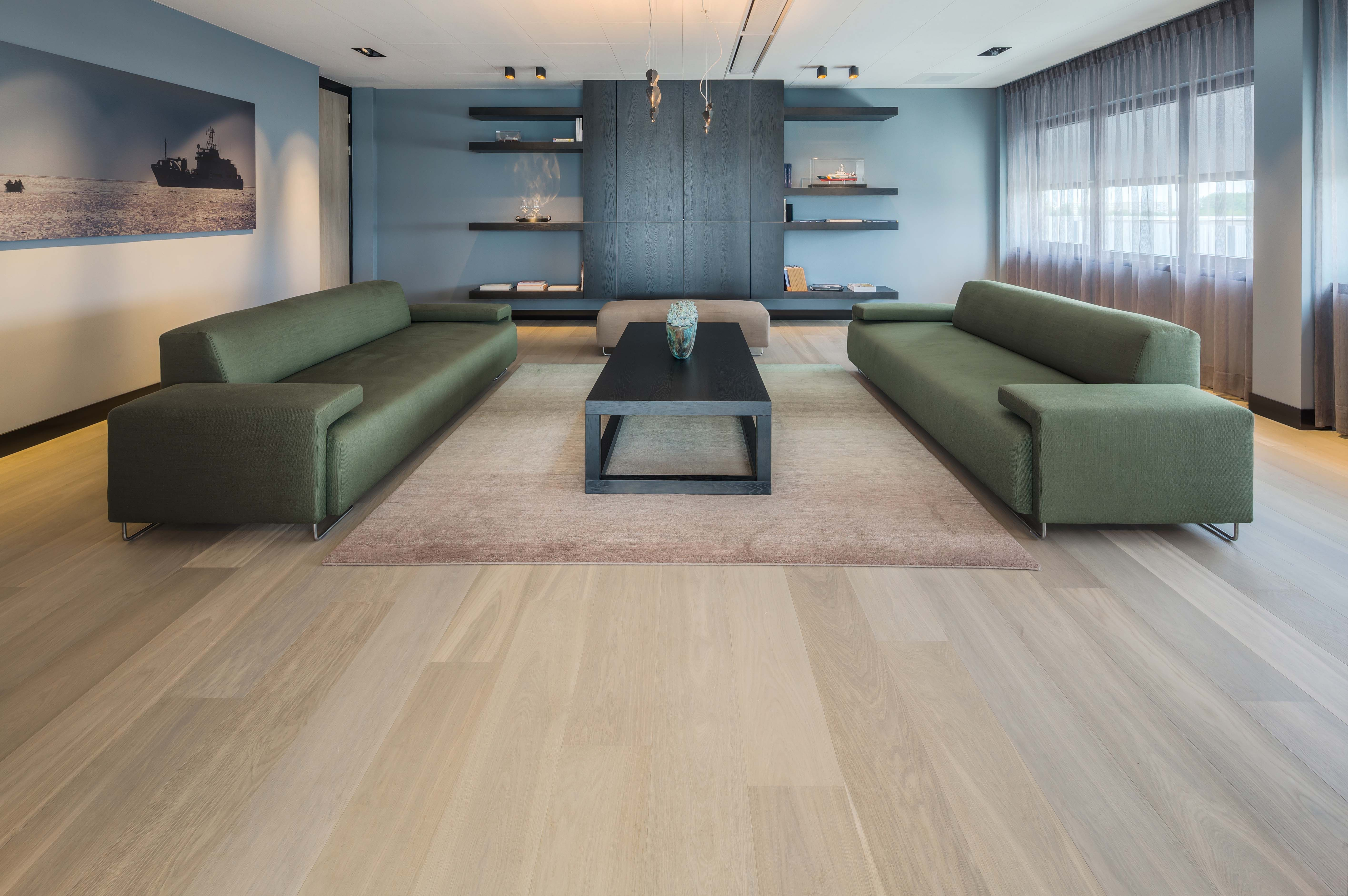 The flooring that S&D provides is guaranteed for life and