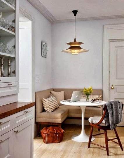Muebles para salones y comedores pequeños | Comedores, Comedor ...