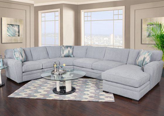 Brilliant Kanes Furniture Poseidon Ii 4 Piece Sectional Living Evergreenethics Interior Chair Design Evergreenethicsorg