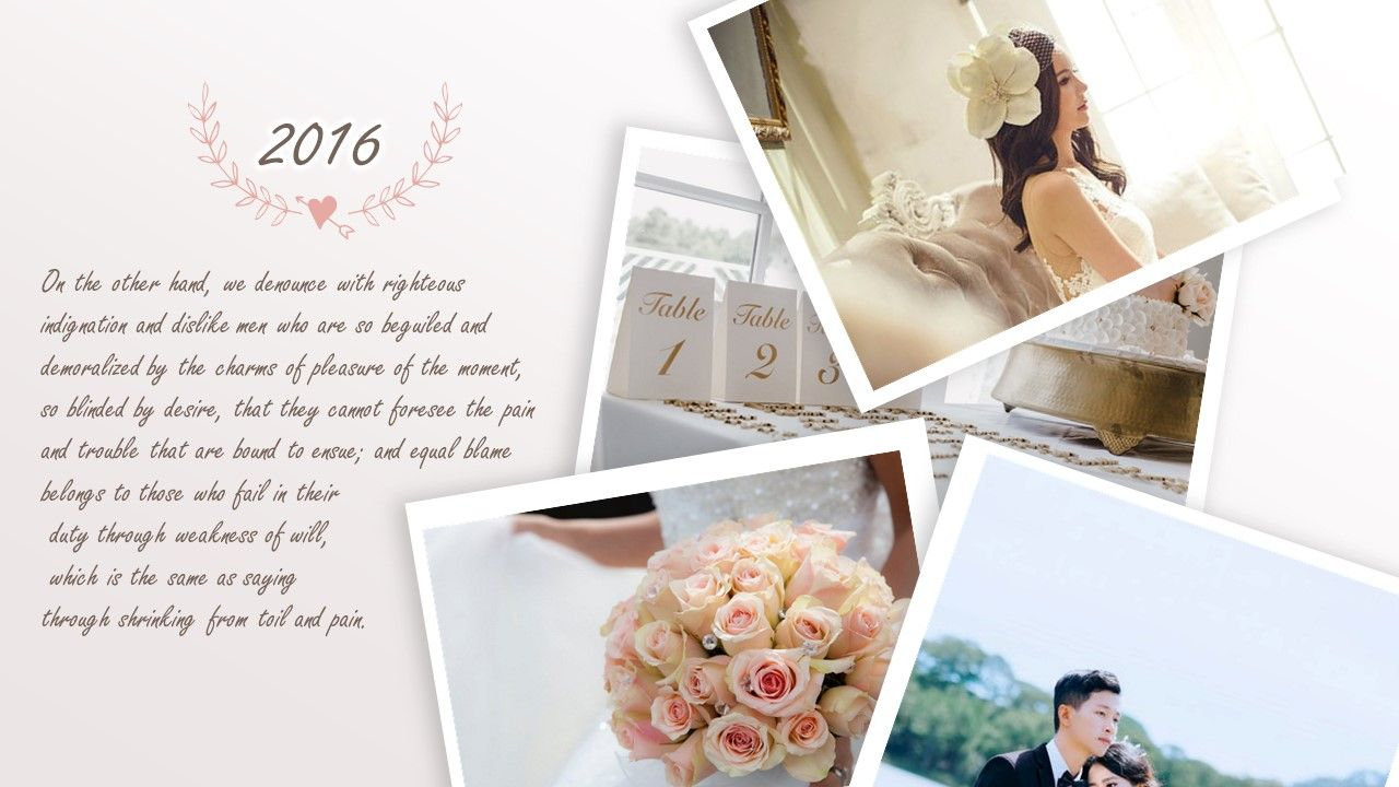 Wedding Powerpoint Template Di 2020 Dengan Gambar