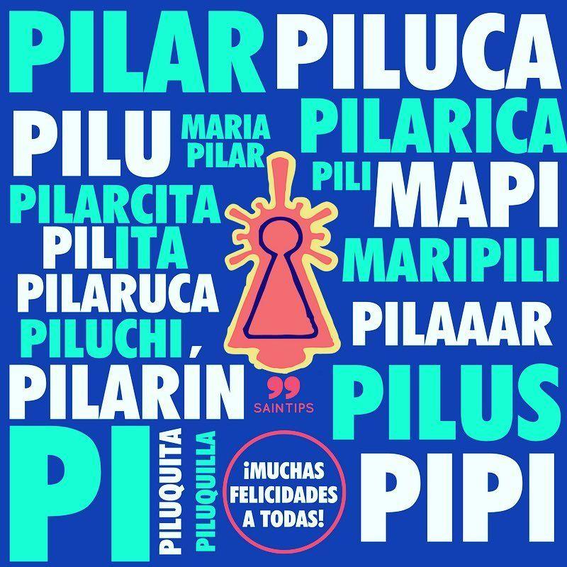 Feliz Día Del Pilar Virgendelpilar Muchasfelicidades Pilares Pilares2017 Saintips Pon Imagenes De Feliz Santo Feliz Día Postales De Feliz Cumpleaños