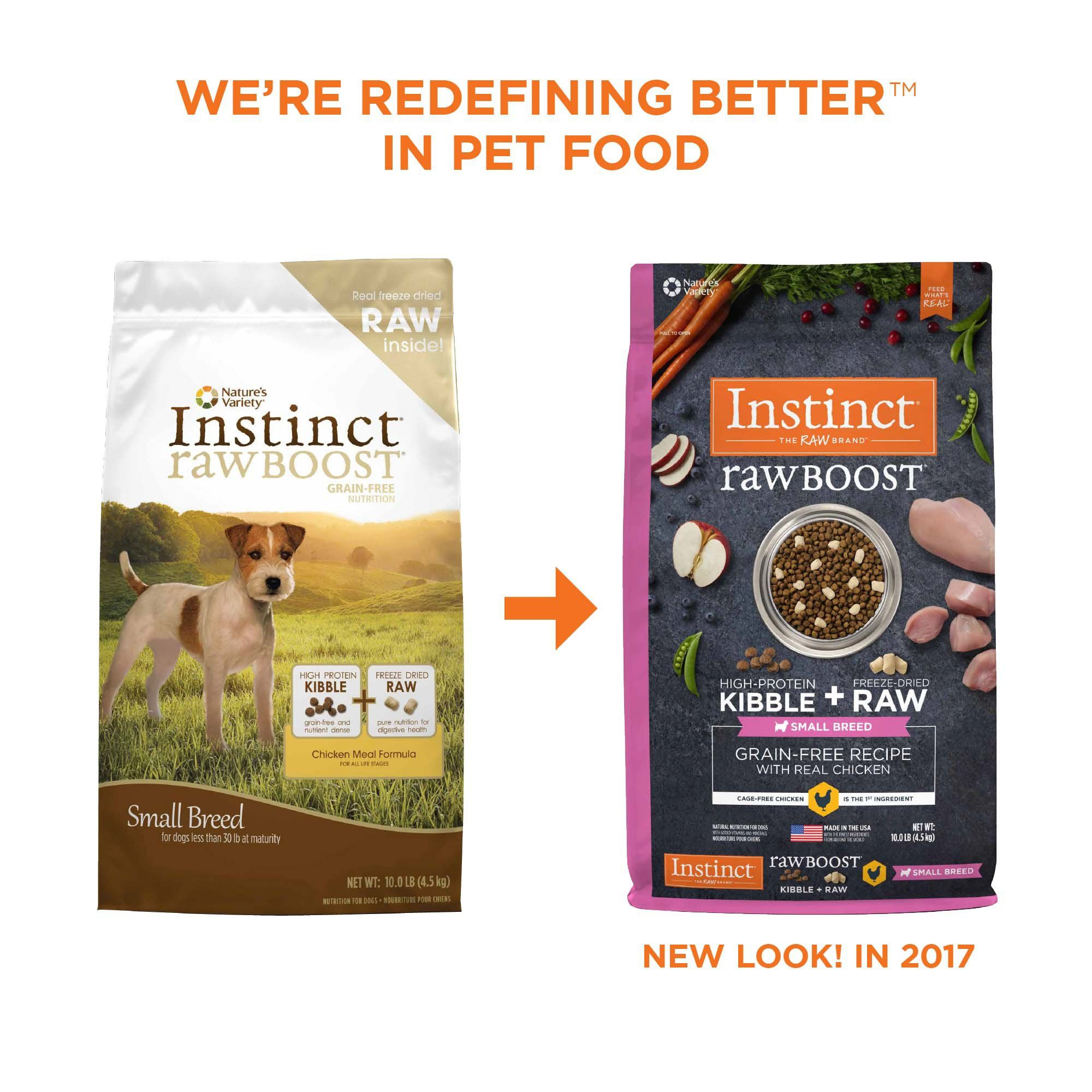 Instinct Raw Boost Small Breed Grain Free Recipe With Real Chicken