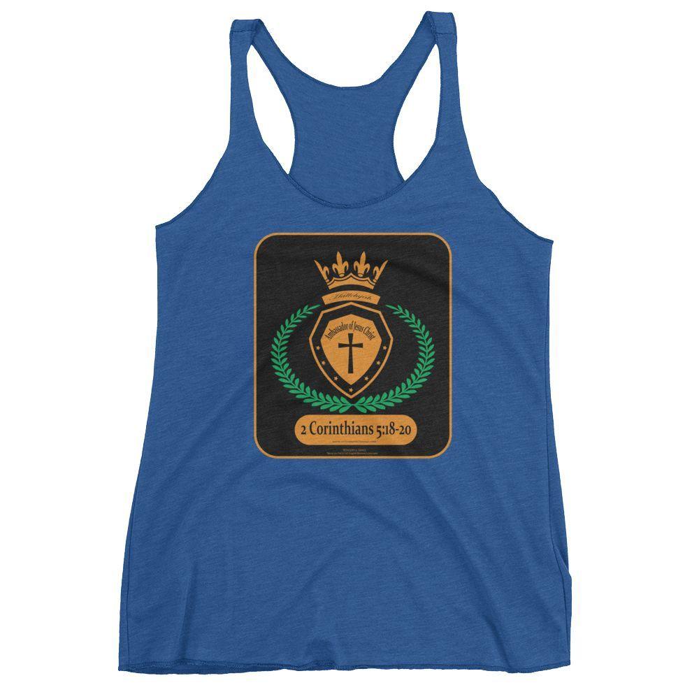 Women's tank top (Ambassador of Jesus Christ)
