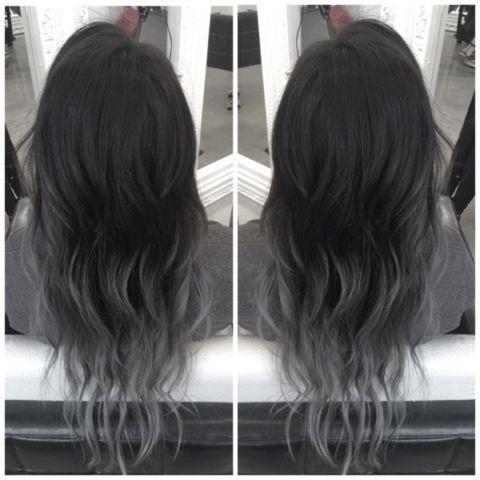 Grey Ombre Hair Beauty