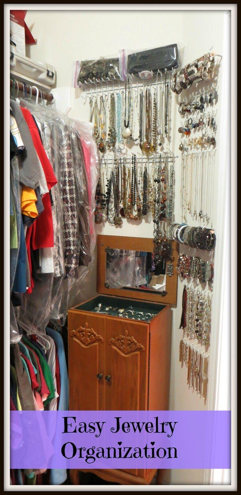 Easy jewelry jewellery storage jewelry organization