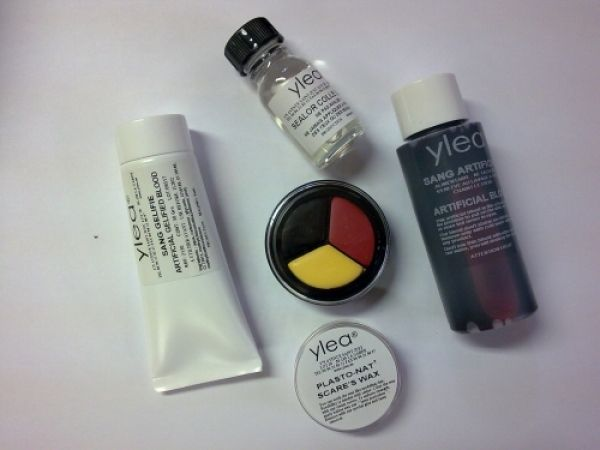 Kit maquillage plaies multiples