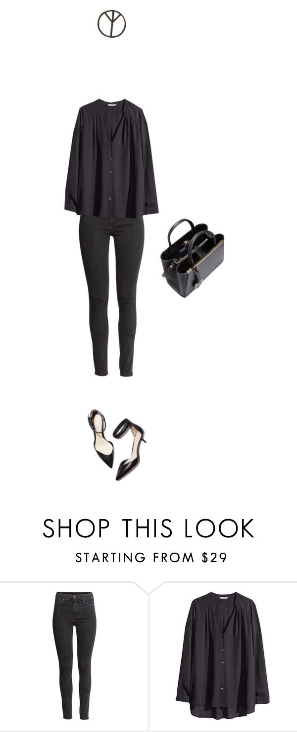 """""""Black Star"""" by majaklara ❤ liked on Polyvore featuring H&M, 3.1 Phillip Lim and Fendi"""