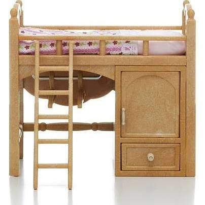 Calico Critters Sister S Loft Bed Loft Bed Bed Home Decor