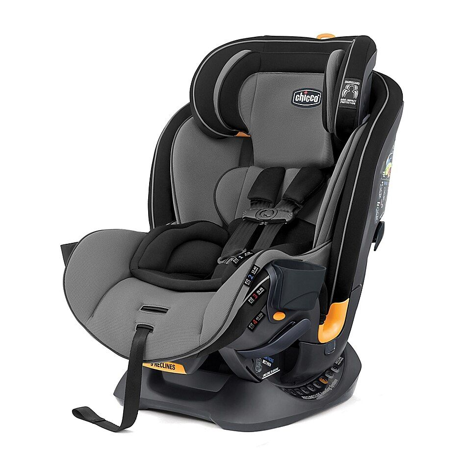 Chicco Fit4 4 In 1 Convertible Car Seat In Onyx Black Grey Car Seats Baby Car Seats Car