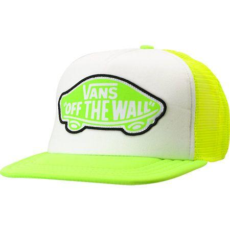 Vans Girls Beach Girl Neon Trucker Hat Gorras bac1d768cf2