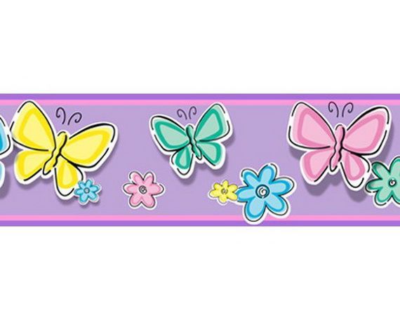 Best Funny Wall Frieze Designs For Kids' Rooms Wall Borders 400 x 300