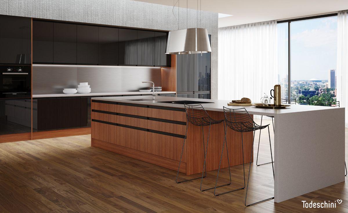 Cozinha Planejada Com O Novo Padr O Taiga Para Um Espa O Gourmet