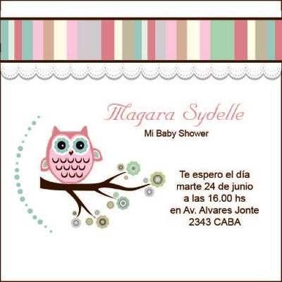 Baby Shower Kit Imprimible Modelo Buho Rosa - Con Juegos a $ 80.Juegos y Juguetes, Otros en ElProducto.co Buenos Aires