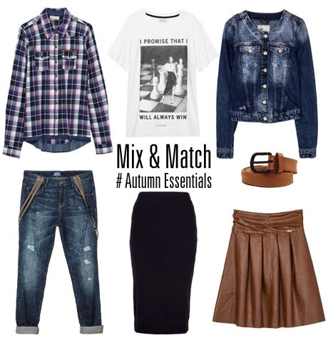 Mix & match your fav #fall_essentials! #BSB_FW14