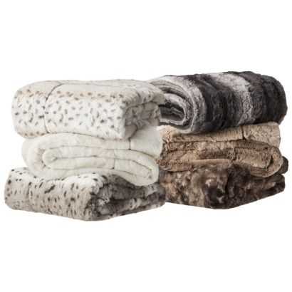 faux fur throws on sale for only each i bought the cream and tan ombre love favorite. Black Bedroom Furniture Sets. Home Design Ideas