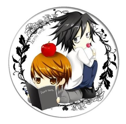 Photo of Death Note badge bag or lapel pin 25 styles – 22