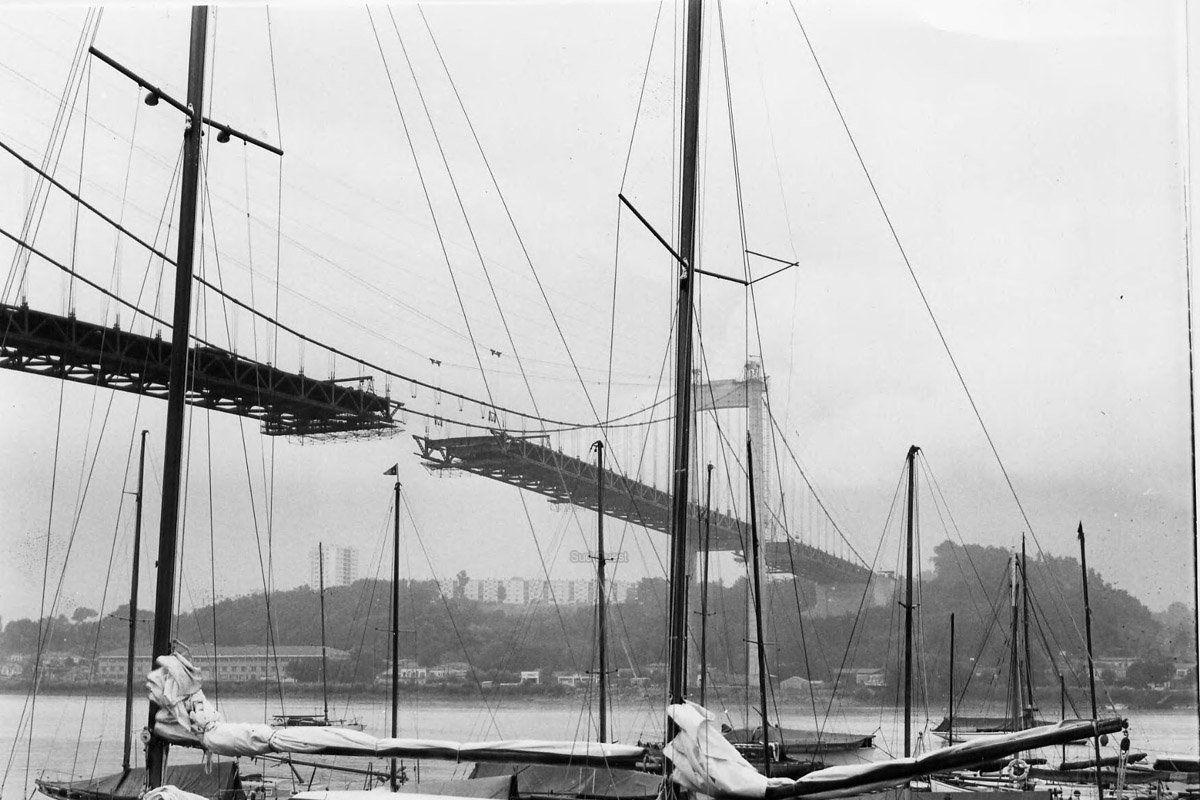 1960 1967 construction du pont d 39 aquitaine photos construction pinterest aquitaine and. Black Bedroom Furniture Sets. Home Design Ideas