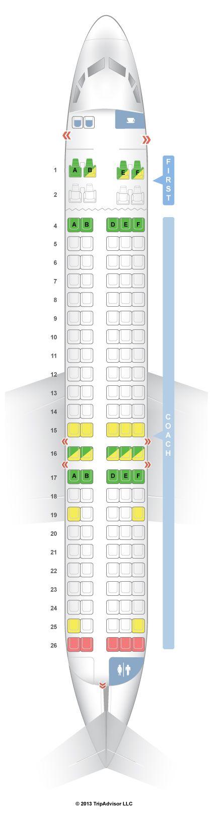 Seatguru Seat Map Hawaiian Airlines Boeing 717 200 717 Hawaiian Airlines Seatguru Airlines